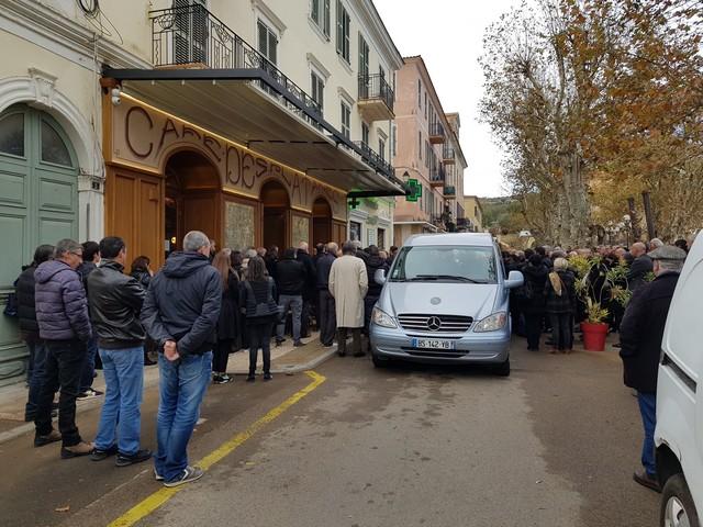 """Décès de """"Mimi"""" Luciani : Poignant hommage à L'Ile-Rousse"""