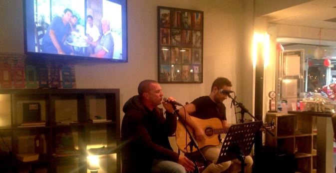 Claude Ferrandi, président du SC Bastia, est aussi un excellent chanteur