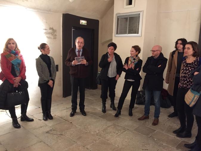 Inauguration de l'expo IFANA par Philippe Peretti, adjoint au maire, délégué au patrimoine