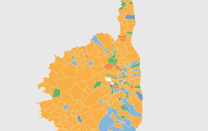 Territoriales : Les résultats par commune sur une carte interactive
