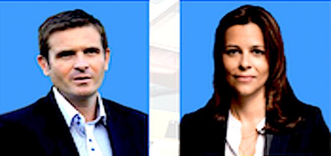 Jean-Martin Mondoloni et Valérie Bozzi