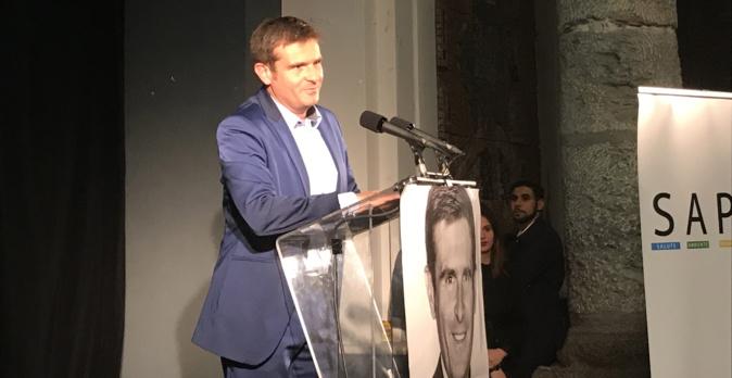 """Jean-Martin Mondoloni, leader de la droite régionaliste et tête de liste : """"A Strada di l'avvene""""."""