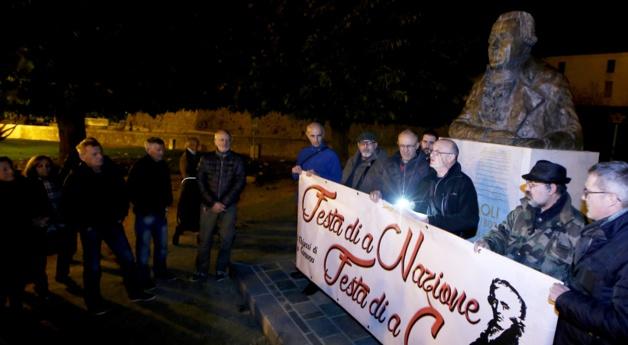 Comme l'an dernier les membres du cercle de réflexion et d'études I Chjassi di u Cumunu se retrouveront devant la statue de Pasquale Paoli à Ajaccio