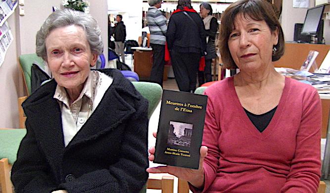 Anne-Marie Venturi et Martine Cometto