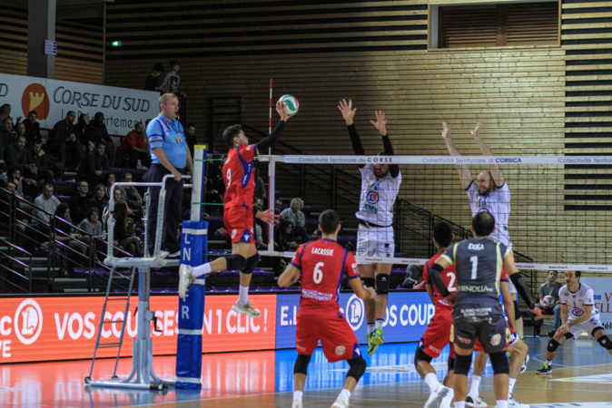 Volley - Ligue A Le GFCA mal récompensé face à Tours (2-3)