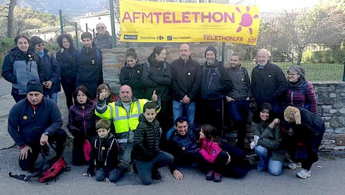 """Téléthon : Siscu in Festa, organise, avec succès, """"le relais des hameaux """""""