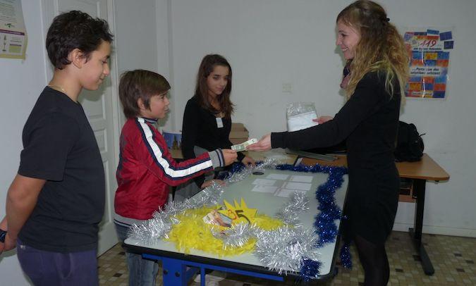 «Les petites cartes», la mini-entreprise du collège Pascal-Paoli de L'Ile Rousse :