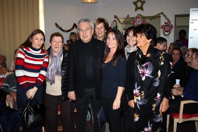 Arbre de Noël à l'unité de longs séjours du Centre Hospitalier Calvi-Balagne