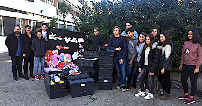 Restos du Cœur : La générosité des collégiens du Laetitia d'Ajaccio