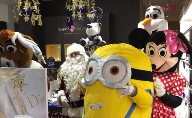 """Le père Noël et ses amis à """"Natale in Calvi'"""