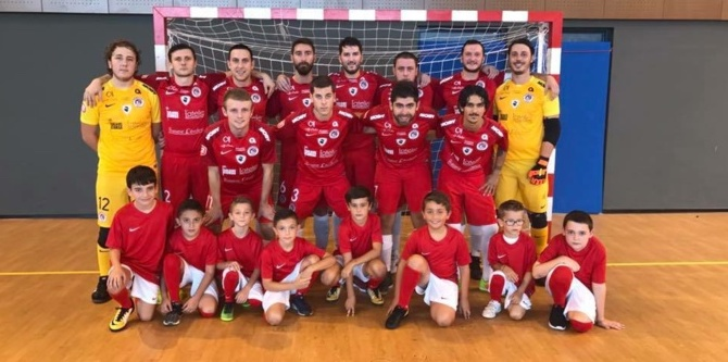 Futsal D2  : L'USJ Furiani à 2 victoires du maintien !
