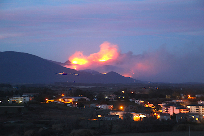 Sant'Andrea di U Cotone : 350 hectares sont partis en fumée…