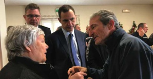 Jacqueline Gourault, Gilles Simeoni et Joseph Colombani.