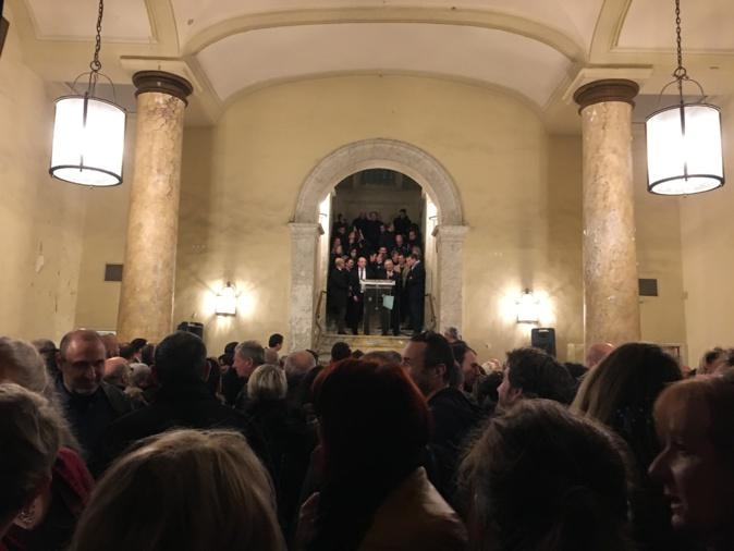 La mairie d'Ajaccio a présenté ses vœux