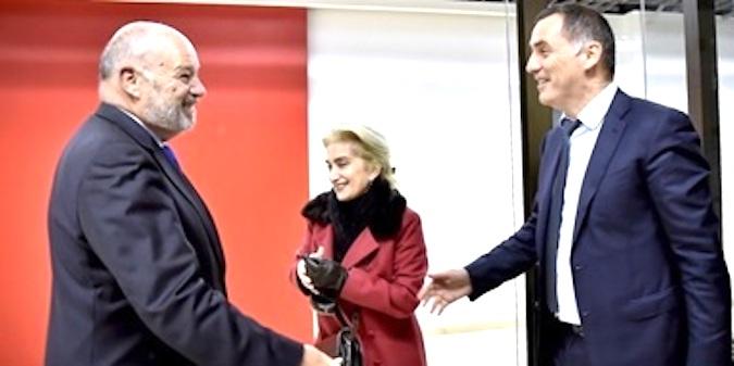 Jean-Michel Baylet et Gilles Simeoni: retrouvailles à Montpellier