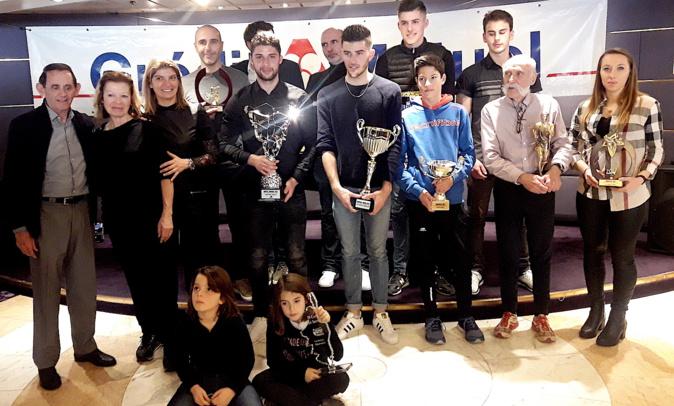 Trophées des sports 2017 de l'UJSF de Corse : Les lauréats