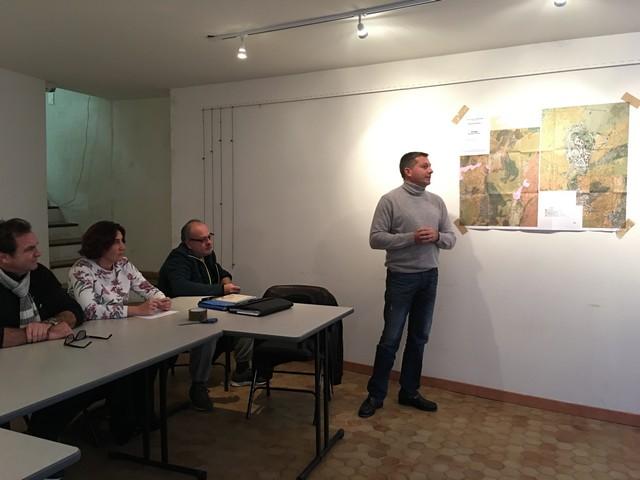 Réunion publique en vue de l'élaboration du PLU à Sant'Antonino