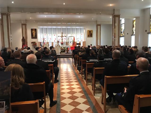 Bastia : Les gendarmes de la Haute-Corse fêtent leur sainte patronne