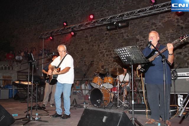 Petru Guelfucci et Paul Sinibaldi au Domaine Orsini  au profit de la Ligue contre le cancer et des sinistrés de la Plaine Orientale