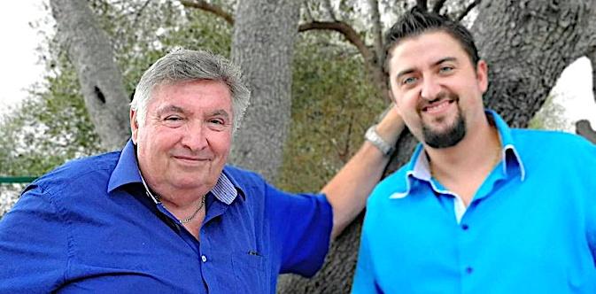 Dominique Agostini (à gauche) et Giovanni Germain-Ticchi, délégués regionaux du PFE