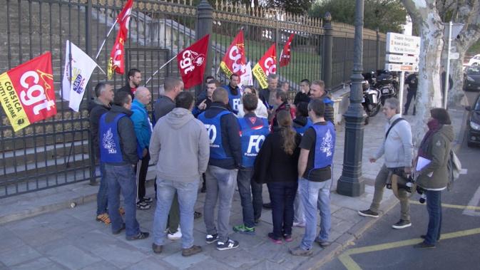 Bastia : Les surveillants pénitentiaires de Borgo en colère