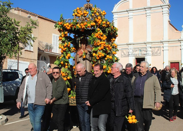 Festa di Sant'Anton Abate in Aregnu