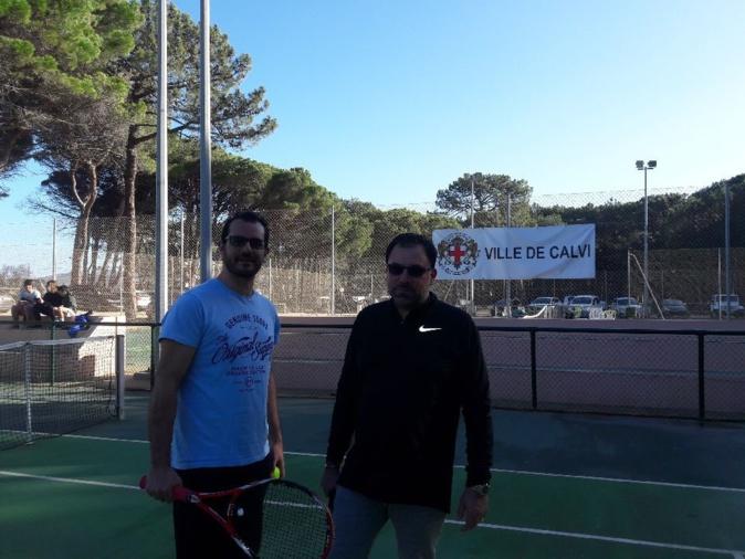 Le tournoi d'hiver du Tennis Club de Calvi a débuté