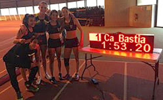 CA Bastia-Athlétisme : Matéo Guillard et les cadettes du club en vedette à Montpellier