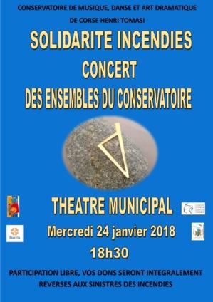 Incendies en Haute-Corse : Le Conservatoire Henri-Tomasi organise un concert de soutien aux sinistrés
