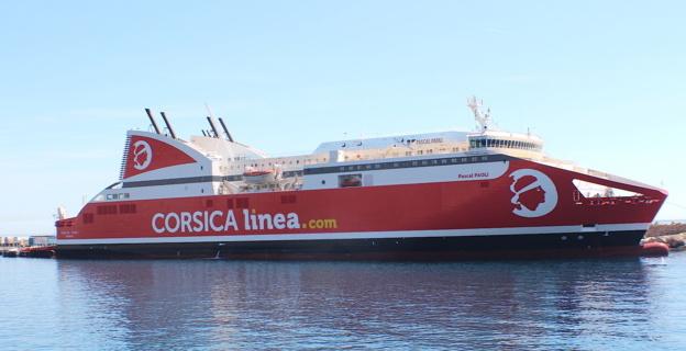 Corsica Linea choisit le branchement à quai de ses navires
