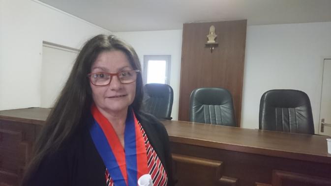 Issue du STC et représentant le collège des salariés, Véronique Cesari-Acker est la nouvelle présidente du Conseil des prud'hommes d'Ajaccio.
