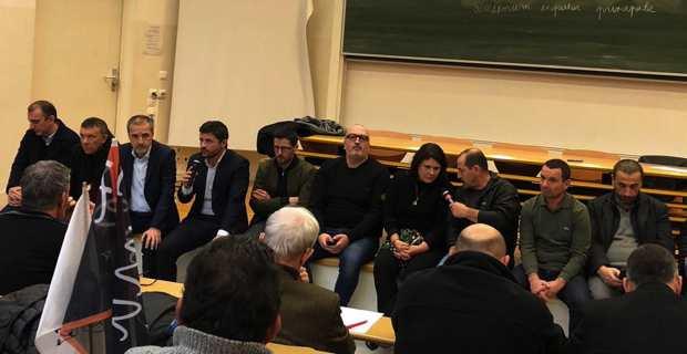 Les élus de Pè a Corsica lancent un appel à la mobilisation générale le 3 février.