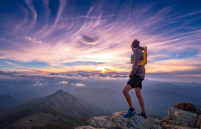 La photo du jour : Coucher de Soleil sur le Monte Astu