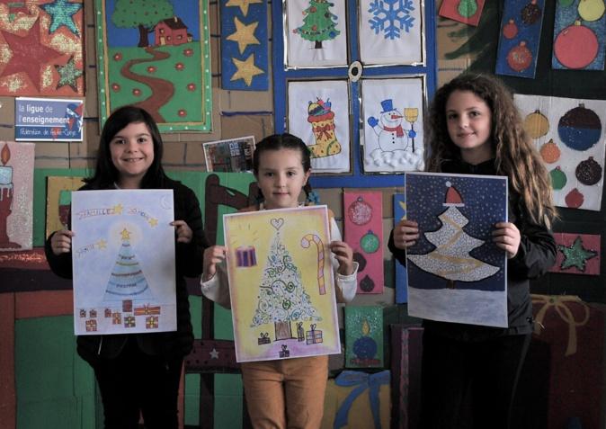 Bastia : Inauguration de l'expositions de dessins des enfants de la Bourse aux jouets