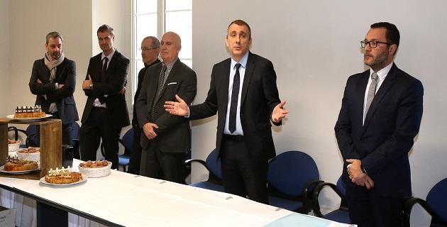 Vœux aux personnels de l'Agence de Développement Économique de la Corse