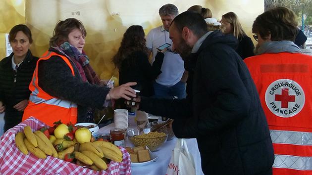 Ajaccio : Petit déjeuner solidaire au kiosque du Diamant