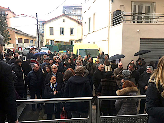 Inauguration de la rue Antoine Sollacaro à Ajaccio : La famille, l'émotion, l'amitié