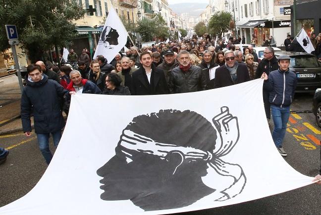 Manifestazione d'Aiacciu : « Una riesciuta maiò »per i dui presidenti naziunalisti
