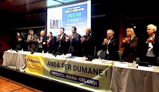 Andà Per Dumane avec Philippe Castaner en Novembre dernier à Ajaccio