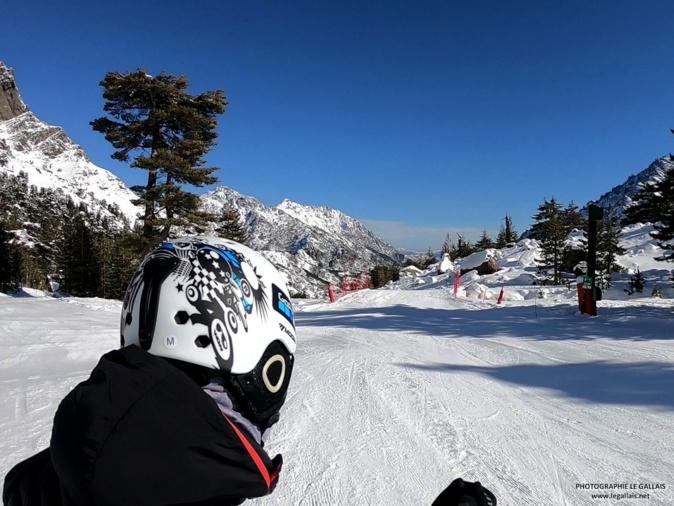 Ascu : A ski, dans le sillage de Stéphan Le Gallais