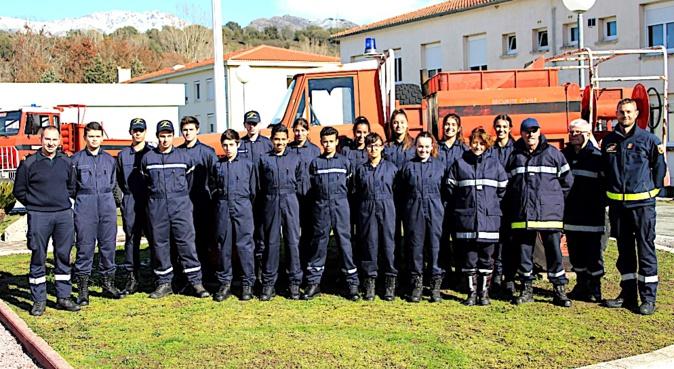 Formation au secourisme pour les cadets et cadettes de sécurité civile à Corte
