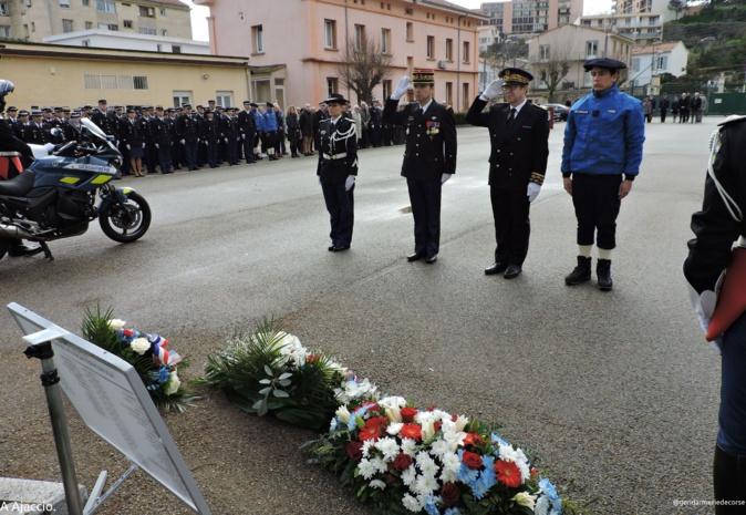 A Ajaccio et Bastia : L'hommage aux personnels de la gendarmerie