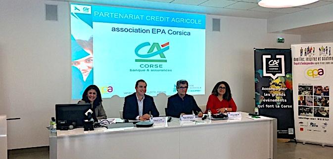 Ajaccio : Le Crédit Agricole et EPA Corsica consolident leur partenariat