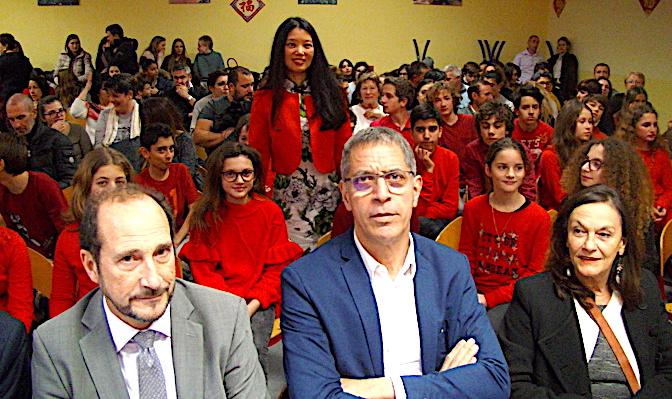 Bastia : 新年快乐2018 au collège Simon-Vinciguerra