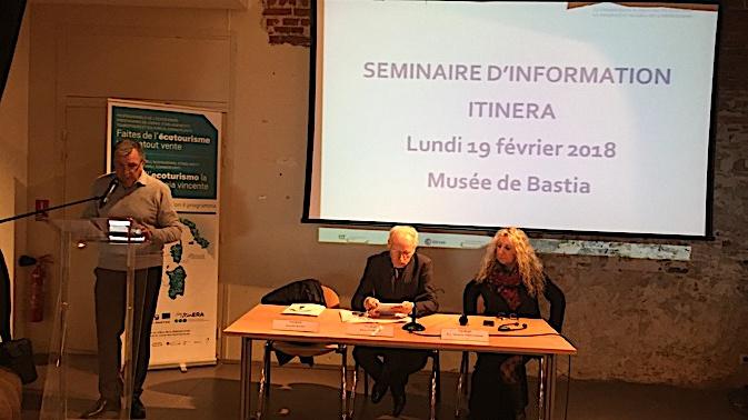 """Bastia : """"ItinERA"""", le  programme européen qui élabore des produits d'excursions pour croisières de luxe"""