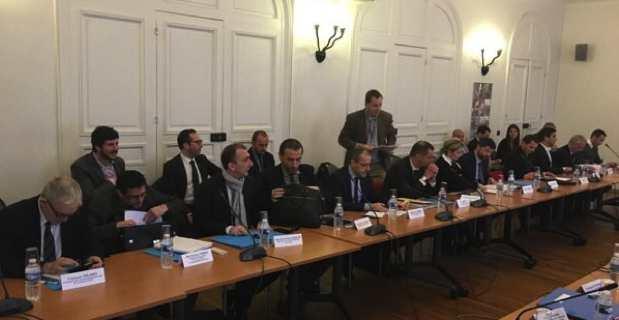 Réunion place Beauvau entre la délégation corse et le gouvernement.