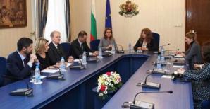 Nanette Maupertuis : « C'est, dans le contexte européen, une chance de rencontrer la vice-présidence de la Bulgarie »