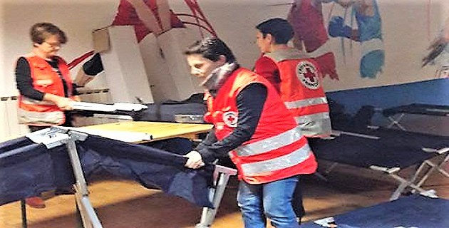 Plan grand froid, le gymnase pascal Rossini ouvre ses portes