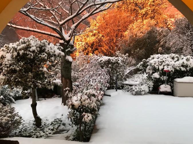 Corse : Les  images de la neige