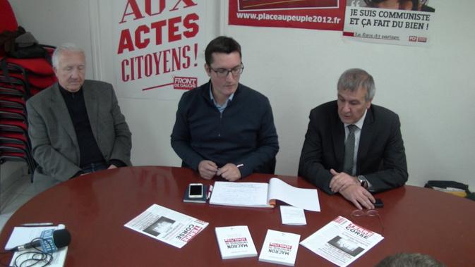 Bastia : le livre «Macron, entreprise de démolition» présenté par son auteur